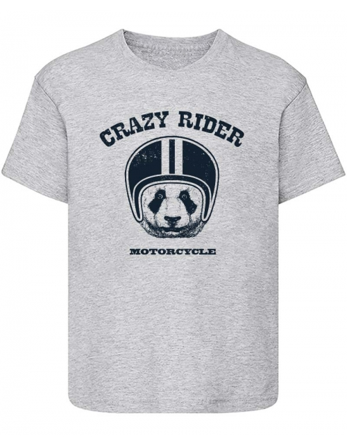 T-Shirt Crazy Rider Panda