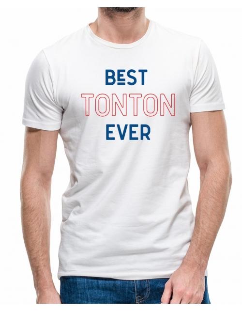 T-shirt Best Tonton Ever