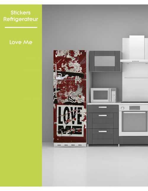 Sticker pour frigo - Love Me