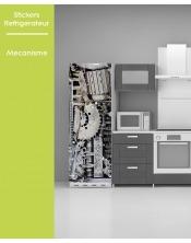 Sticker pour frigo - Mecanisme