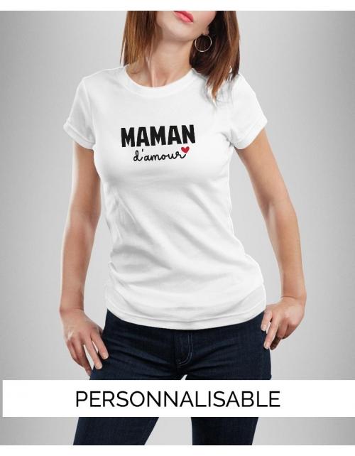 T-shirt Maman Amour