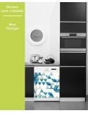 Sticker pour Lave Vaisselle - Blue Triangle