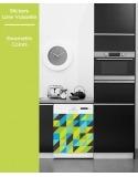Sticker pour Lave Vaisselle - Geometric Colors