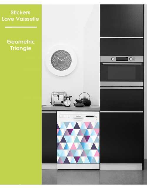 Sticker pour Lave Vaisselle - Geometric Triangle