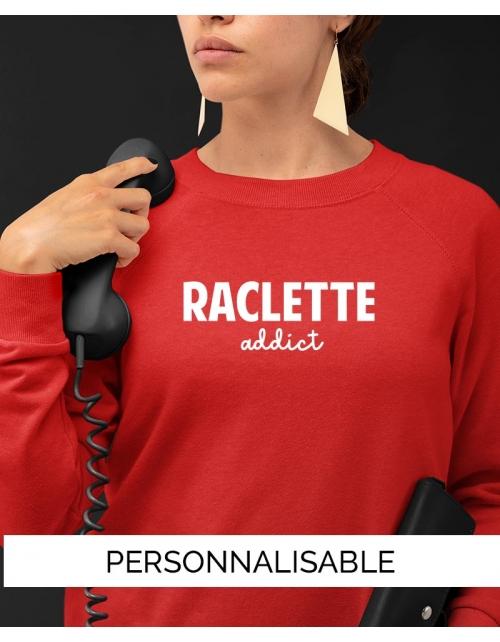 Sweat Raclette Addict Collection Pilou et Lilou