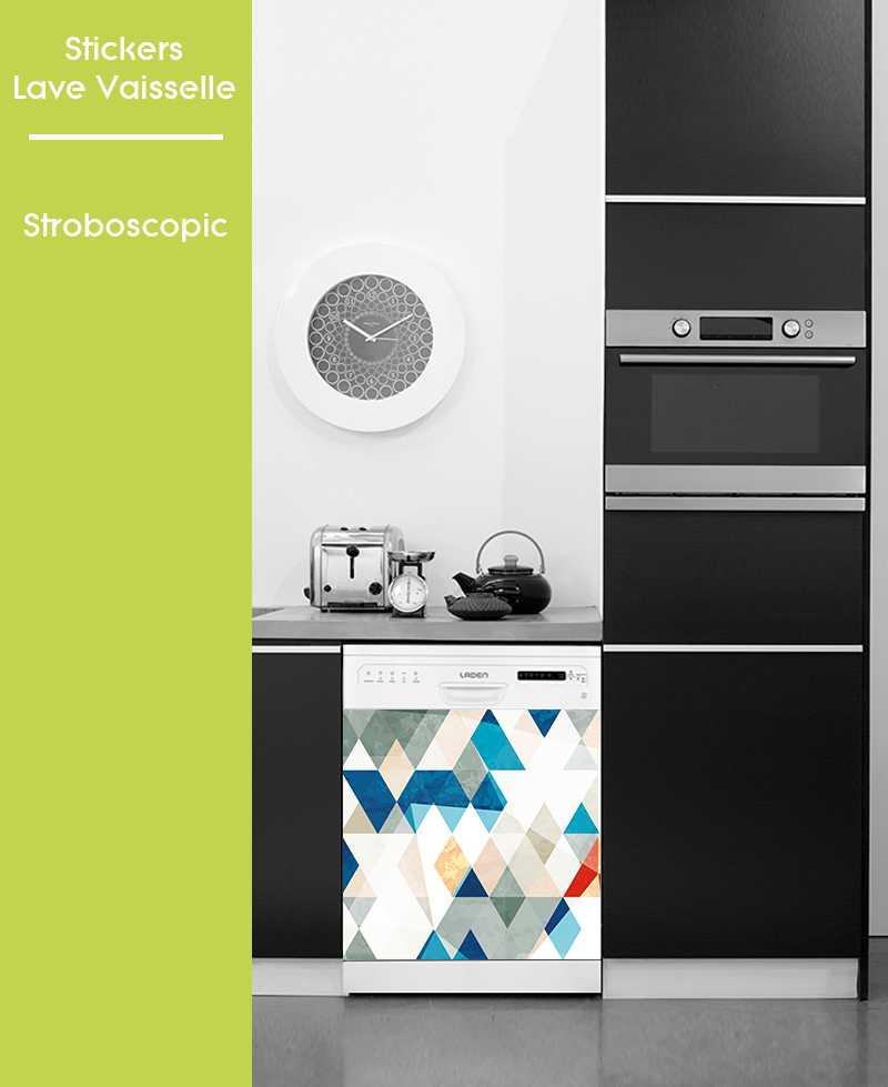 Sticker pour Lave Vaisselle - Stroboscopique
