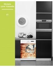 Sticker pour Lave Vaisselle - 61