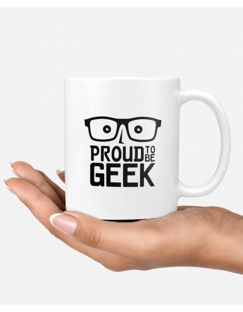 Mug - Proud to be Geek