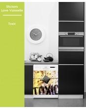 Sticker pour Lave Vaisselle - Toxic