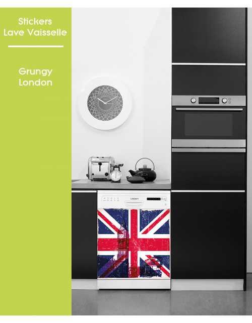 Sticker pour Lave Vaisselle - Grungy London