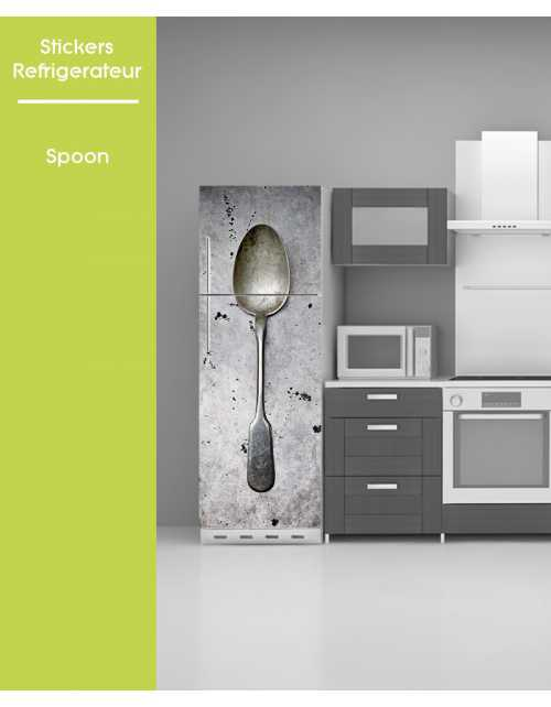 Sticker pour frigo - Spoon