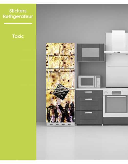 Sticker pour frigo - Toxic