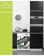 Sticker pour Lave Vaisselle - Times Square