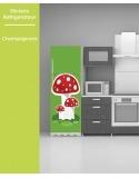 Sticker pour frigo - Champignons