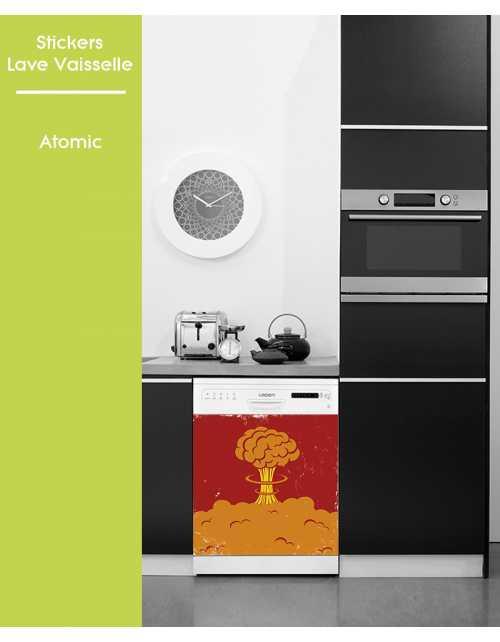 Sticker pour Lave Vaisselle - Atomic
