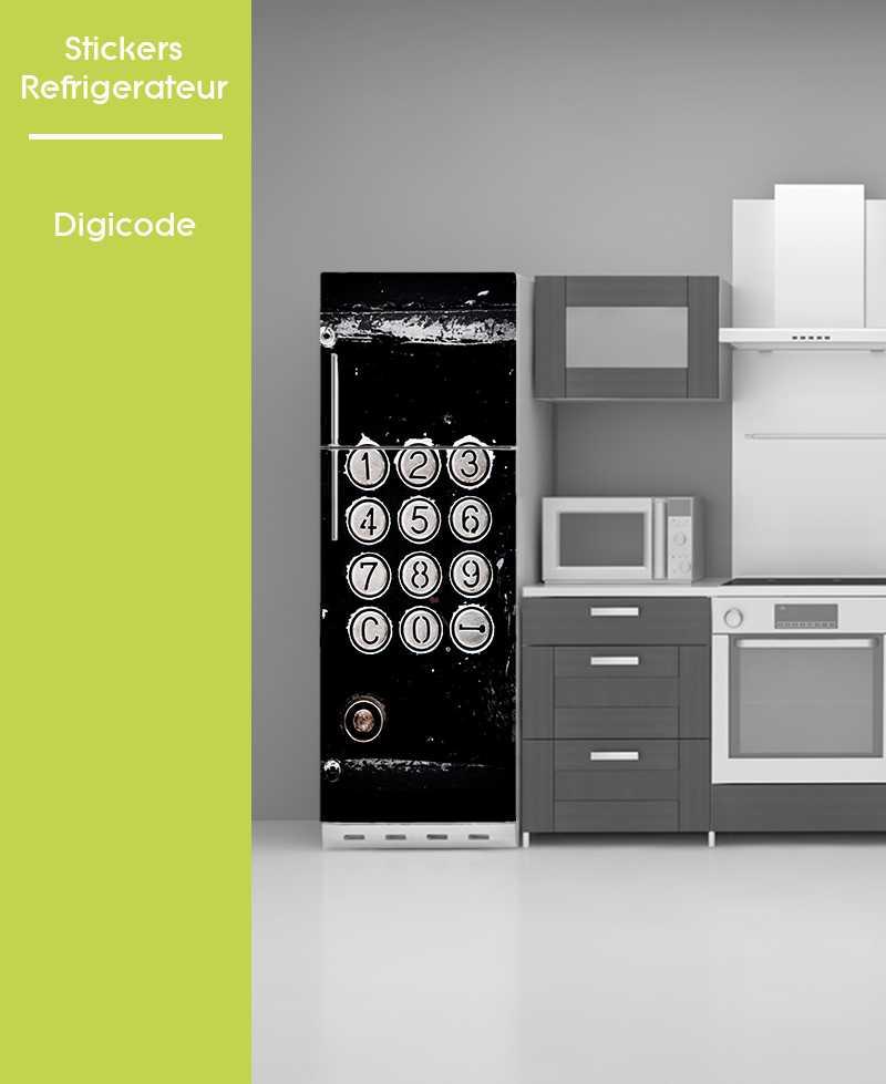 Sticker pour frigo - Digicode