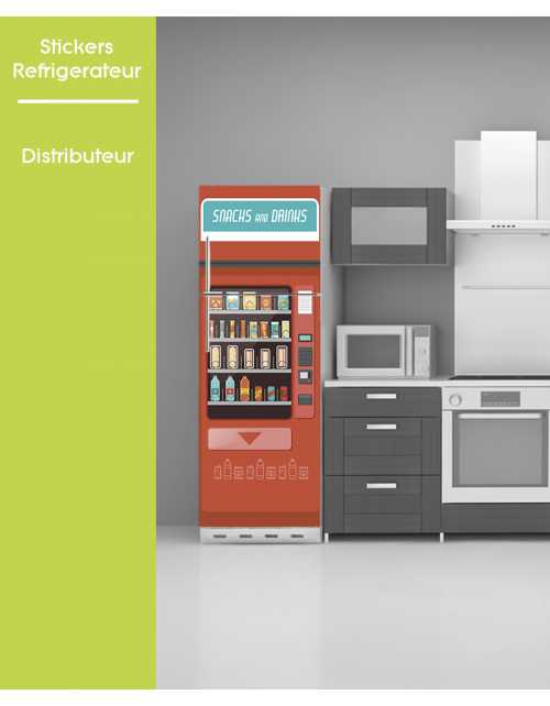 Sticker pour frigo - Distributeur