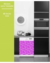 Sticker pour Lave Vaisselle - BB Skulls
