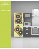 Sticker pour frigo - Vintage tape