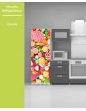 Sticker pour frigo - Candy
