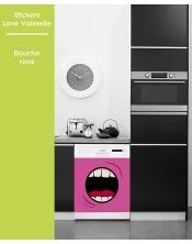 Sticker pour Lave Vaisselle - Bouche