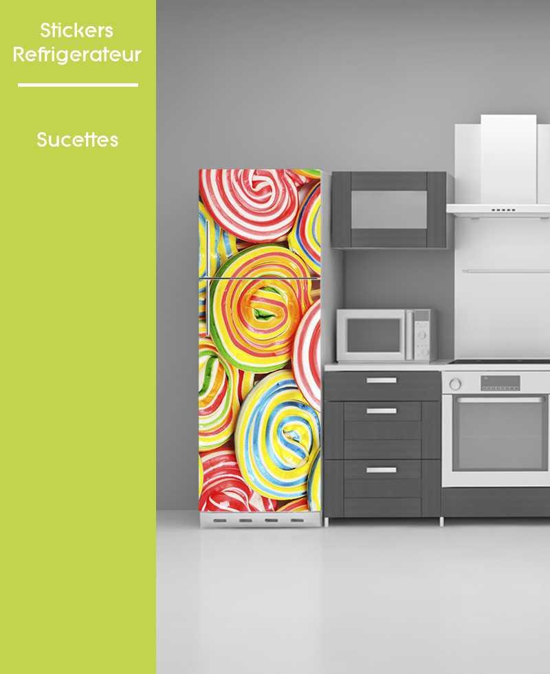 Sticker pour frigo - Sucettes