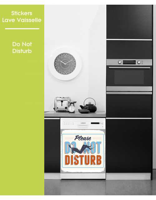 Sticker pour Lave Vaisselle - Do not Disturb