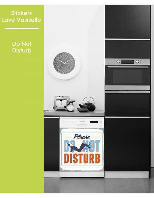 Sticker pour Lave Vaisselle - Do not Disturb