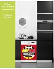 Sticker pour Lave Vaisselle - No Signal