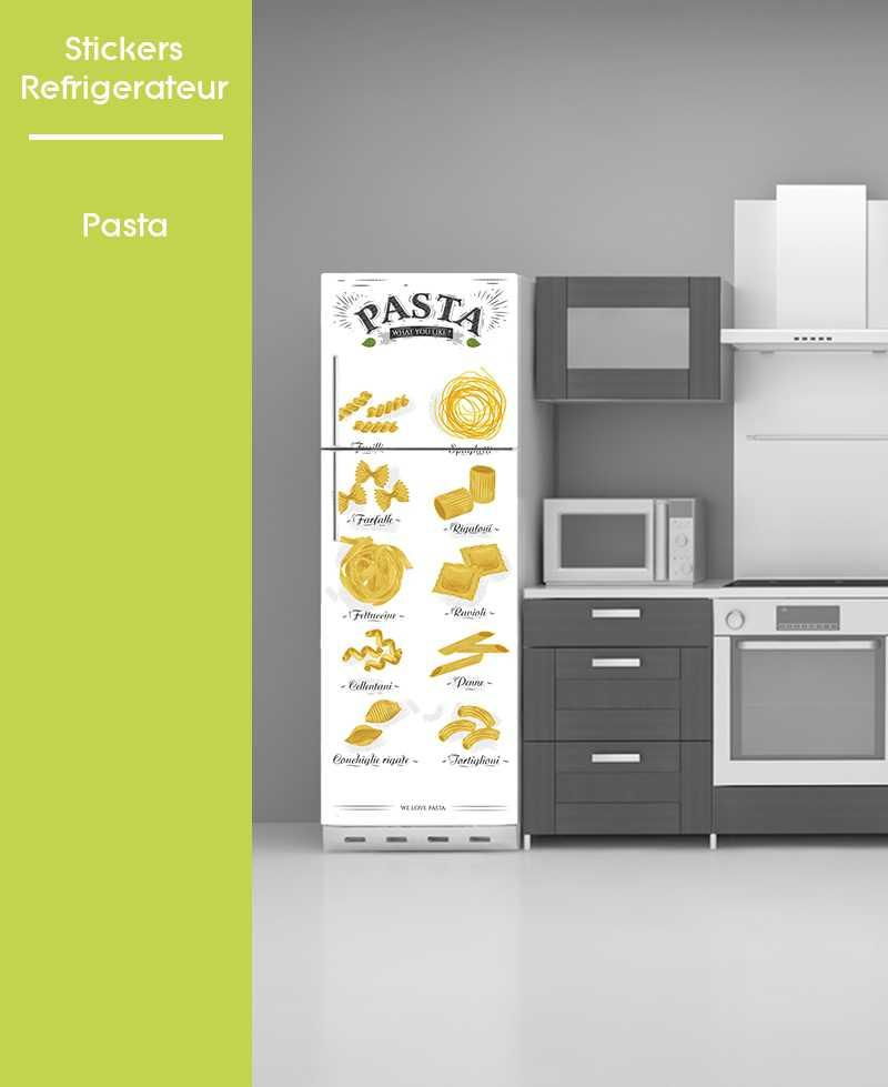 Sticker pour frigo - Pasta