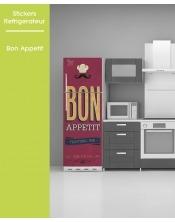 Sticker pour frigo - Bon Appétit