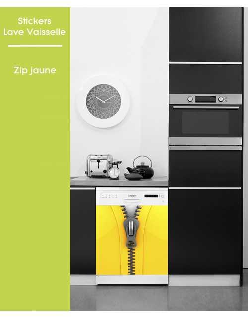 Sticker pour Lave Vaisselle - Zip