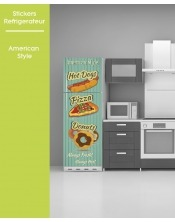 Sticker pour frigo - American Style