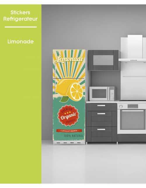 Sticker pour frigo - Limonade
