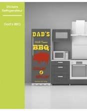 Sticker pour frigo - Dad's BBQ