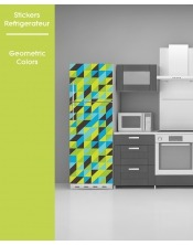 Sticker pour frigo - Geometric Colors
