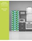 Sticker pour frigo - Geometric Cross