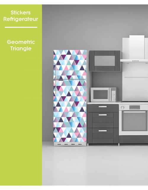 Sticker pour frigo - Geometric Triangle