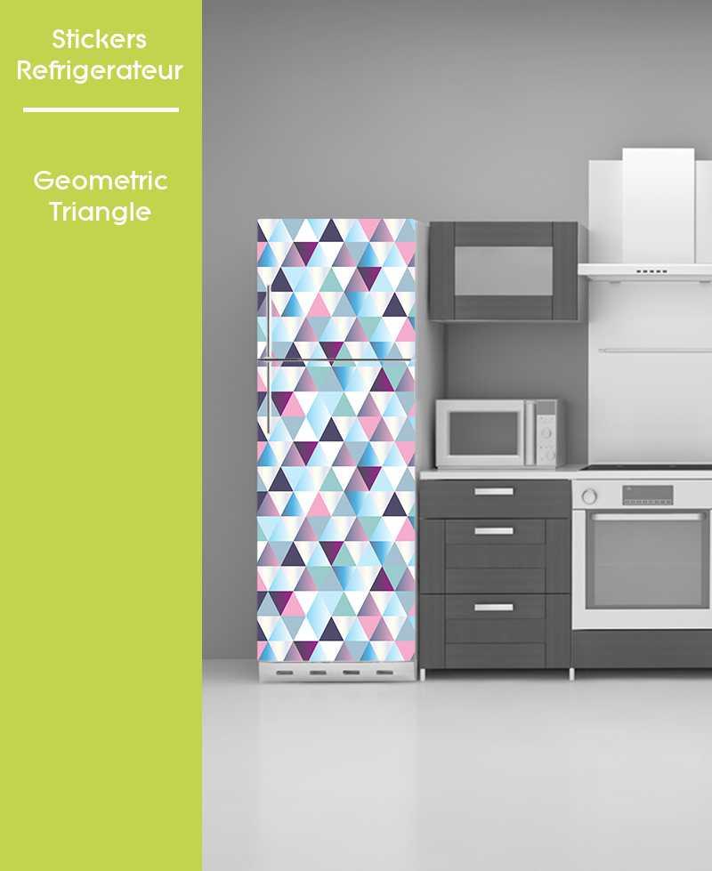 Sticker pour frigo - Geometric Triangle