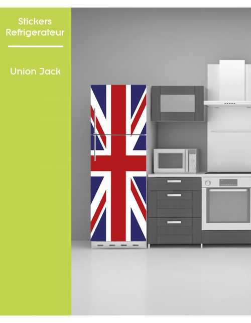 Sticker pour frigo - Union Jack