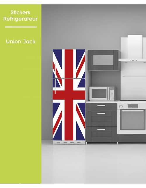 Sticker pour frigo - Union Jack