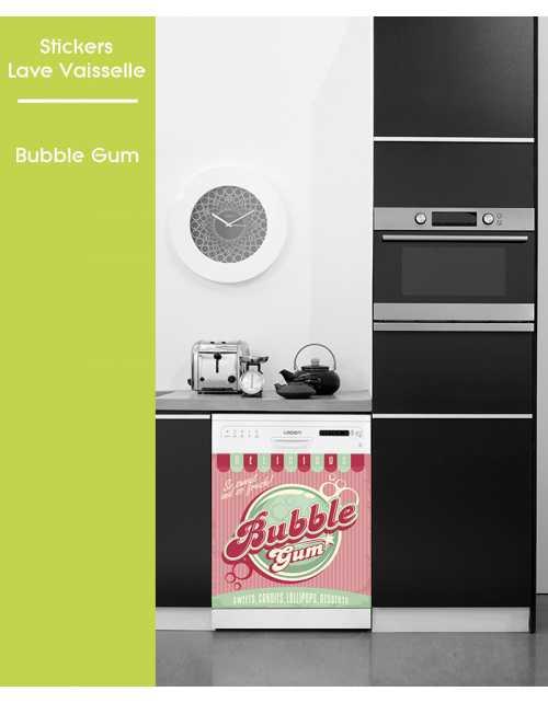 Sticker pour Lave Vaisselle - Bubble Gum