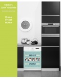 Sticker pour Lave Vaisselle - Home Sweet Home