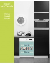 Sticker pour Lave Vaisselle - Home Sweet Home