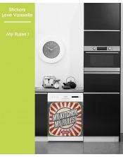 Sticker pour Lave Vaisselle - My Rules