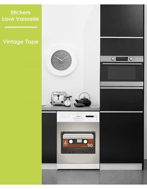 Sticker pour Lave Vaisselle - Vintage Tape