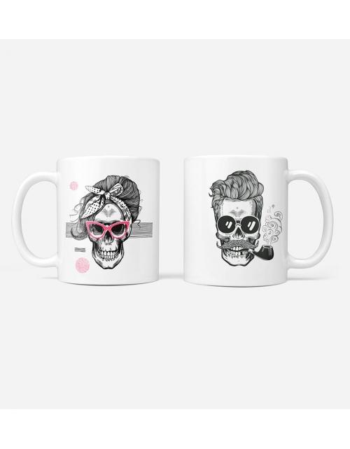 Mug - Mr et Mme Skull