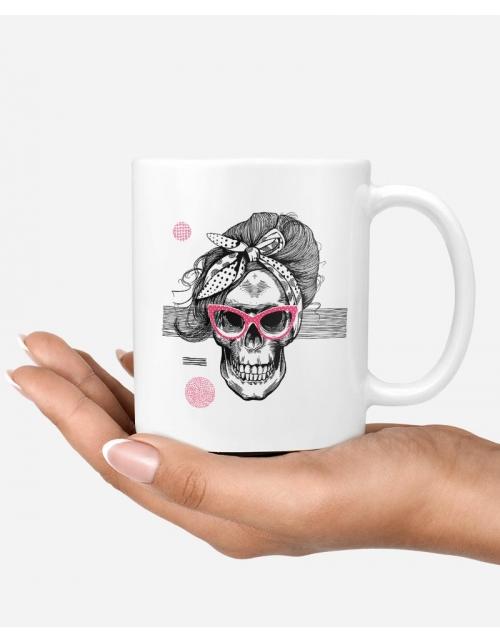 Mug - Lady Skull