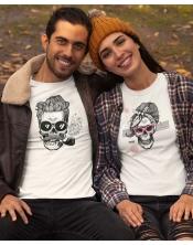T-shirt Lady Skull