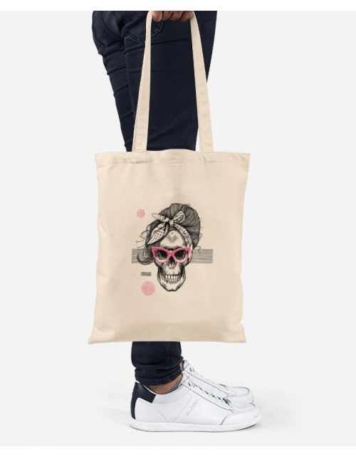 Tote Bag - Lady Skull